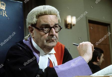Stock Picture of Derek Francis as Judge Hastings