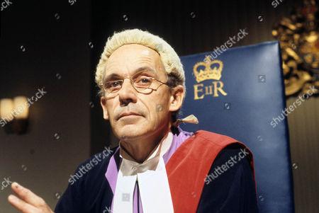 John Woodnutt as His Honour Judge Weightman