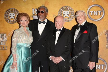 Tovah Borgnine Morgan Freeman, Tim Conway and Ernest Borgnine