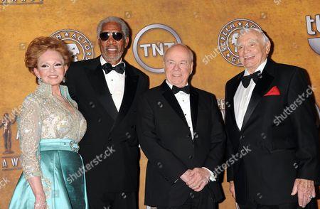 Tova Borgnine, Morgan Freeman, Tim Conway and Ernest Borgnine