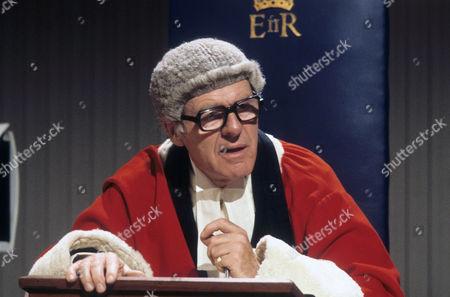 John Horsley as Mr Justice Mowbray