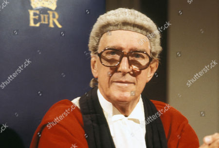 Stock Picture of Basil Dignam as Mr Justice Poynter