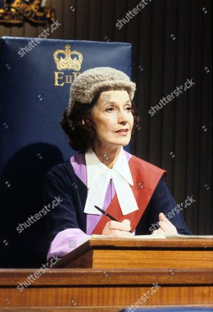 Judy Campbell as Judge Crawford¶Judy Campbell as Judge Crawford