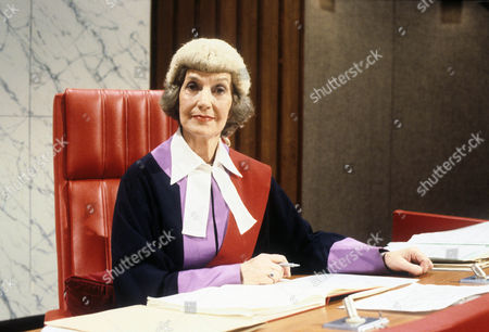 Stock Picture of Judy Campbell as Judge Crawford