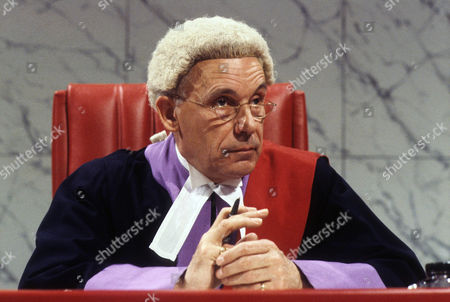 Editorial picture of 'Crown Court' TV Programme. - 1982
