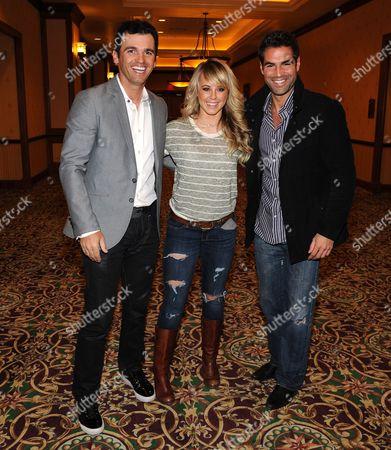 Tony Dovolani and Chelsie Hightower and Jordi Vilasuso