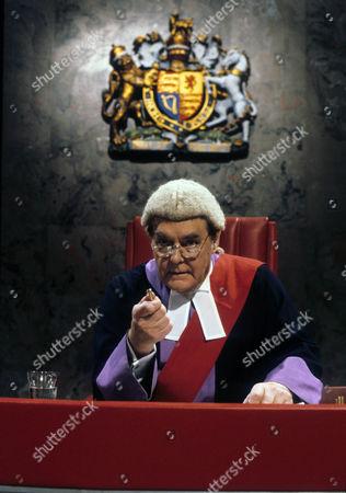 Stock Photo of Thorley Walters as Judge Unwin