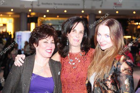 Ruby Wax, Jill Shaw Ruddock and Judith Owen