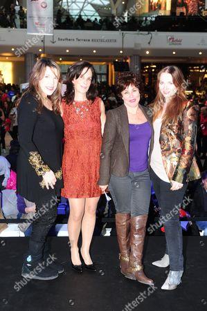 Beth Neilsen Chapman, Jill Shaw Ruddock, Ruby Wax and Judith Owen