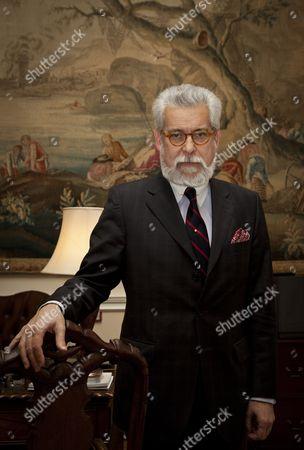 Editorial image of Portuguese Ambassador Joao de Vallera at the Portuguese Embassy, London, Britain - 28 Jan 2011