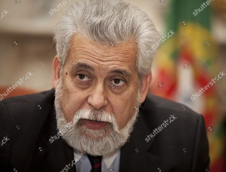 Editorial photo of Portuguese Ambassador Joao de Vallera at the Portuguese Embassy, London, Britain - 28 Jan 2011