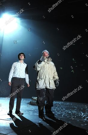 Sam Swann (Harold) and Michael Gould (Harry)