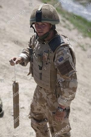 Stock Photo of Staff Sergeant Gareth Wood of 11 EOD Regiment