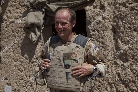 Stock Image of Staff Sergeant Gareth Wood of 11 EOD Regiment