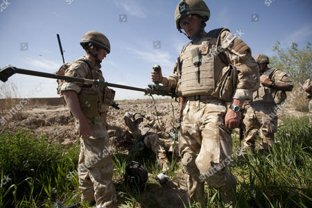 Editorial photo of Staff Sergeant Gareth Wood in Nad e Ali district of Helmand Province, Afghanistan - Mar 2010