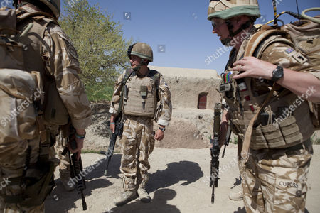 Editorial picture of Staff Sergeant Gareth Wood in Nad e Ali district of Helmand Province, Afghanistan - Mar 2010