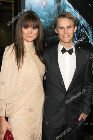 Alice Parkinson and Rhys Wakefield