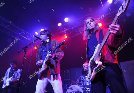 The Vaccines - Freddie Cowan, Justin Young and Arni Hjorvar