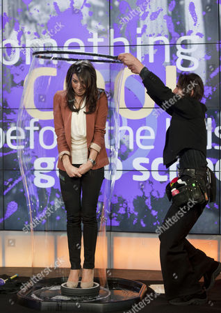 Editorial picture of 'Daybreak' TV programme, London, Britain. - 01 Feb 2011