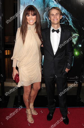 Stock Photo of Alice Parkinson and Rhys Wakefield