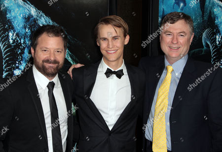 Alister Grierson, Rhys Wakefield, and Andrew Wight