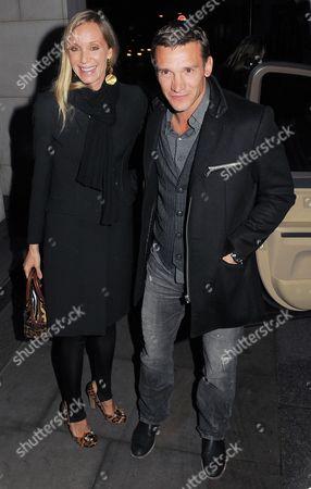 Editorial photo of Andriy Shevchenko and Kristen Pazik at the Nobu Park Lane restaurant, London, Britain - 01 Feb 2011
