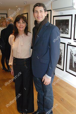 Susan Young and Karim Fayed