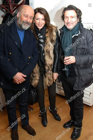 Richard Young with Elena and Neville Tucker