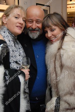 Caroline Shapiro, Richard Young and Carol Siller