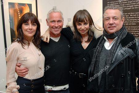 Susan Young, guest, Carol Siller and Hamish McAlpine