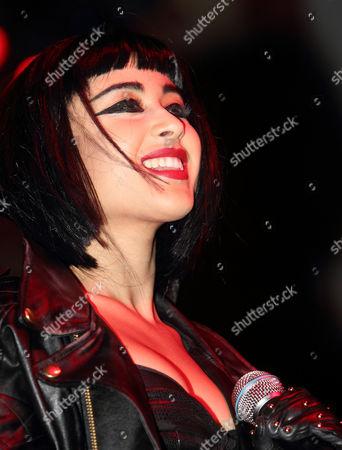 Stock Image of Supporting act Natalia Kills - Natalia Cappuccini