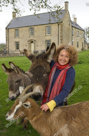 Editorial picture of TV Presenter, Claire Cooke at home in Bruton, Somerset, Britain - 06 May 2010
