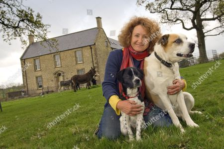 Editorial image of TV Presenter, Claire Cooke at home in Bruton, Somerset, Britain - 06 May 2010