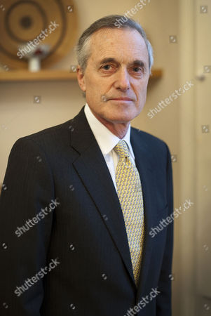 Editorial picture of Sir Andrew Cahn at home in north west London, Britain - 06 Jan 2011