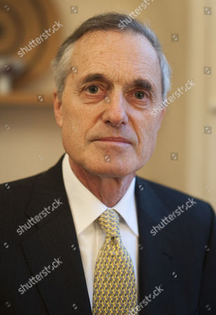 Editorial photo of Sir Andrew Cahn at home in north west London, Britain - 06 Jan 2011