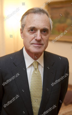 Editorial image of Sir Andrew Cahn at home in north west London, Britain - 06 Jan 2011