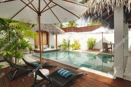 The luxury Pool Villa on Velassaru