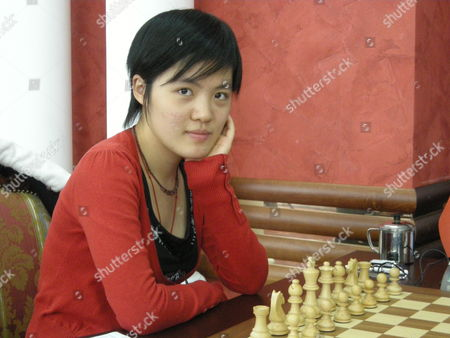 16-year-old Hou Yifan, who is the world's youngest ever women's chess champion