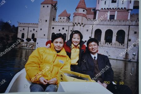16-year-old Hou Yifan, who is the world's youngest ever women's chess champion, as a child