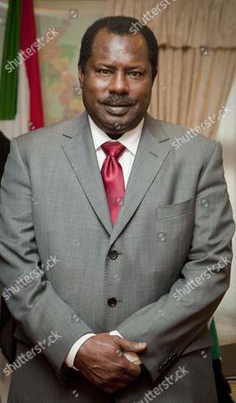 Stock Photo of Sudan Ambassador, Abdullahi Al Azreg