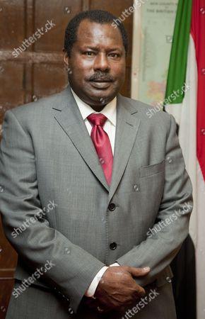 Stock Image of Sudan Ambassador, Abdullahi Al Azreg