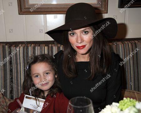 Anna Friel and daughter Gracie Ellen Mary Friel