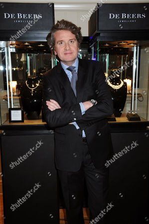 Stock Picture of Francois Delage, CEO of De Beers