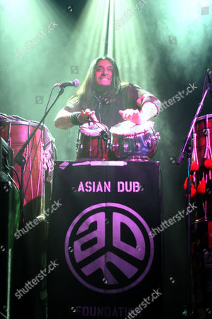 Stock Picture of Asian Dub Foundation - Prithpal Rajput