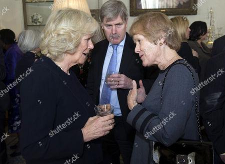 Camilla Duchess of Cornwall and Sue MacGregor