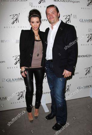 Kim Kardashian with Famed Jewellery Designer Pascal Mouawad