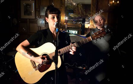 Stock Picture of Louise Hull and Laura Marling