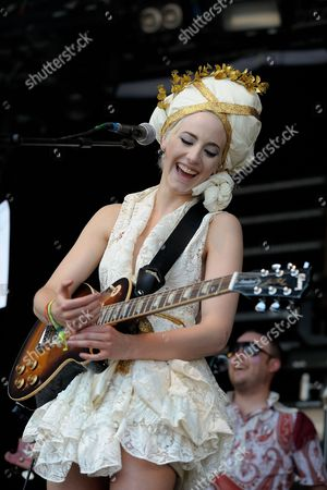 Beth Jeans Houghton on the the Park Stage