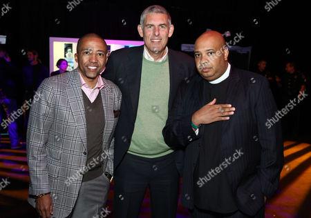 Kevin Liles, Lyor Cohen, Reverend Run