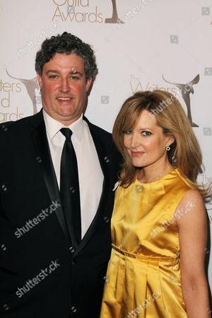 Al Jean and Stephanie Gillis